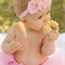 Baby headband 'BELLA' Choose from 3 colours.Can be made to fit all ages