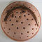 Mosquito Coil Holder with built in stand, Bronze Skink Design