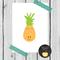 little pineapple print