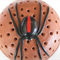 Mozzie Coil Holder with built in stand, Red Back Spider Design