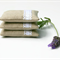 Lavender Pillows - Set of 3 Lavender Sachets - Linen and Lace - Minimal Classic