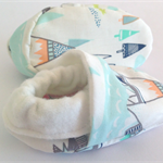 Baby shoe/booties Indian summer AZTEC bamboo absorbent Winter warm/soft