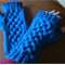 Warm wool, fingerless mitts - teen/adult