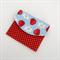 Girls Coin Purse / Card Wallet - Strawberries