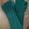 Textured fingerless mitts- Adult teen
