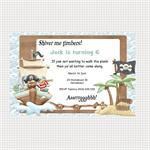 Printable Pirate Birthday Invitations
