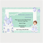 Printable Snow Princess Birthday Invitations
