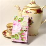 "TEA PURSE ""Pink Rose"""