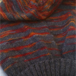 Striped stocking hat-