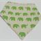 Baby Bib - Bandana Bib - Dribble Bib - Elephants