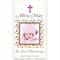 Personalised kids girls baptism christening naming day photo candle candles