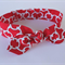 """Chain Knot toddler headband, """"Alexis"""", knot headband, red and white, chain knots"""