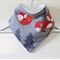 Adorable Soft Fox Woodland Bandana Dribble Bib Triple Layer Absorbent Flannel