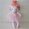 Pink Hair Ballerina Soft Doll
