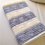 Triangle Crochet Baby Blanket - Made to Order