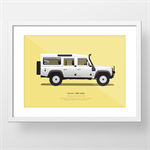Custom Illustration and A3 Print of you Car or ride!