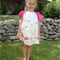 'Origami Oasis' Peasant Dress - Size 5