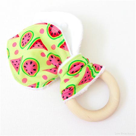 Watermelon Baby Teether