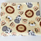 Baby/Swaddle Blanket - Monkey, Lions, Tigers, Zebras