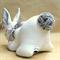 "Sleepy Bunny Rabbit Soft Toy ""Bouncer"""