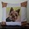 Cushion Cover Yorkshire Terrier Dog Art Animal Throw Pillow Decorative Cushion