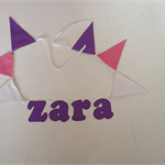 'ZARA' for the special little girl in your life...