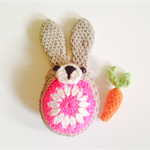 Crochet Easter Bunny and Carrot