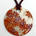 Spray of Leaves Pendant