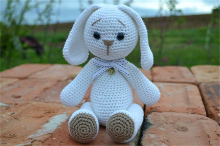 Crochet Cotton Bunny toy