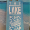 Happy Place Lake sign