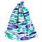 Large Swimming Bag / Waterproof Wet Bag. Pool or Beach Bag. Fish. Blue &  Aqua.