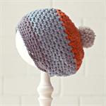 pom pom slouchy beanie | crochet | toddler | boys | 1-3 years