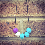 """Just Simple"" Teething Necklace"