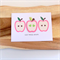 Get Well Card| Get Well Soon|Apples|Pink|