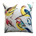 Decorative cushion, Bird Haven