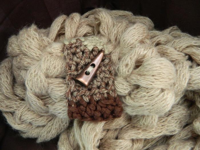 Moda Vera Knitting Patterns Scarf : knit cowl scarf justcraftingaround madeit.com.au