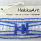 Blue & White Cuff Bracelet