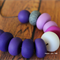 Design Your Own Polymer Clay Bead Necklace Kit - Purple
