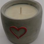 Heartfelt Fundraiser - Soy Wax Heart Candle
