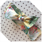 Lemon Palm headband bow knot baby kids adults toddler summer modern floral