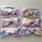 My Little Pony Hair Bow Elastic Ties Birthday Party Favors 12 pack