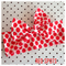 Red and white polka dot Cotton fabric headband wrap bow baby kids toddler