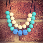 """""""Just Simple"""" Teething Necklace"""