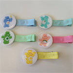 5 CARE BEARS Boutique Hair Clips