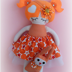 Doll with Bunny Friend