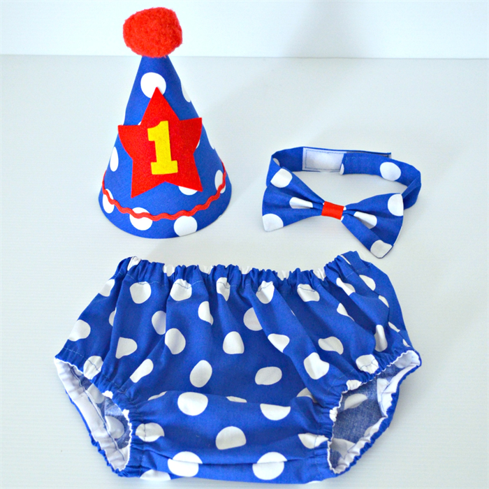 Boys Circus 1st Birthday Outfit Cake Smash Set