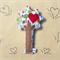 Heartfelt Fundraiser - Tree Rattle with Heart