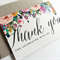 """""""Lizzy"""" Thank You Card (Discount Available)"""