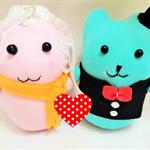 Wedding couple doll Easter gift Handmade