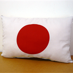 Cushion Japan Flag